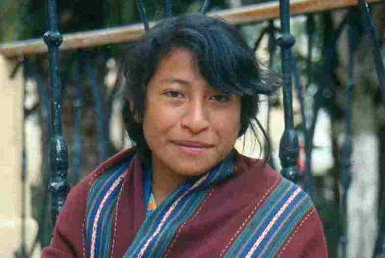 Maya girl in San Cristobal