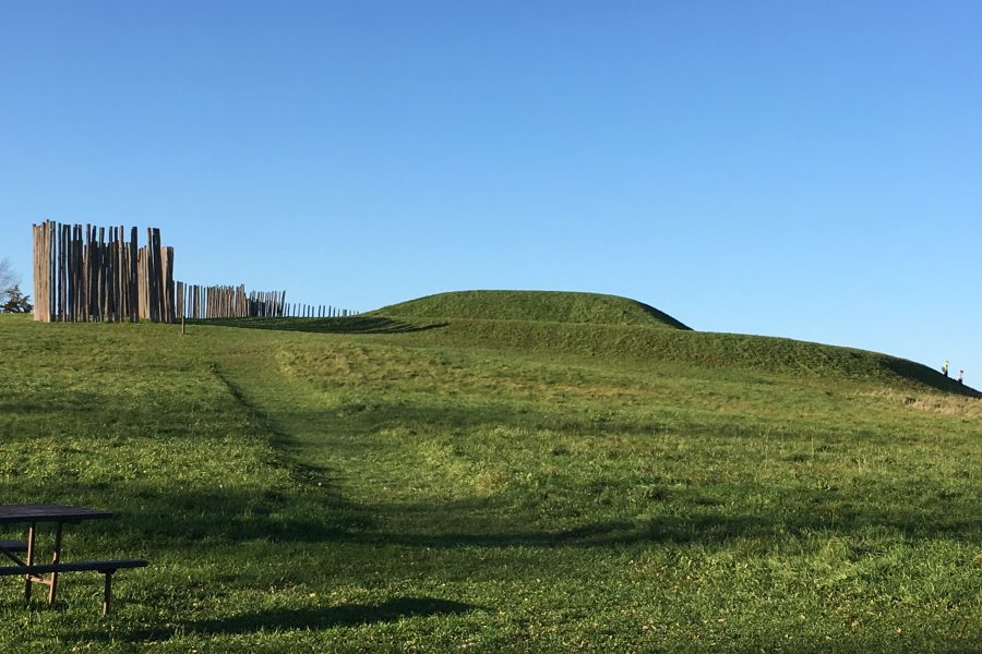 Aztalan Palisade and earthen platform mound
