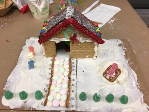 Mallowstone Cottage Gingerbread House